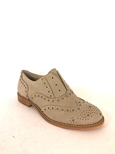 Escarpins En Cuir Dkwood-553 Chaussures À Talons Bas Slip Mainapps Dove