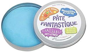 WDK Partner-Pasta Fantasía Fluorescente Turquesa, a1705269