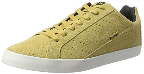 Hummel Herren Cross Court Suede Sneakers, Beige (Fall Leaf), 45 EU