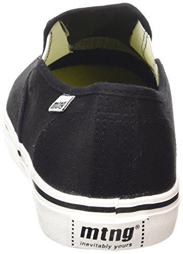 MTNG Attitude tennis - Sneakers CANVAS FINO NEGRO