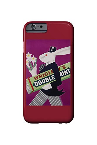 wrigleys-doublemint-rabbit-with-flowers-vintage-poster-usa-c-1934-iphone-6-cell-phone-case-slim-bare