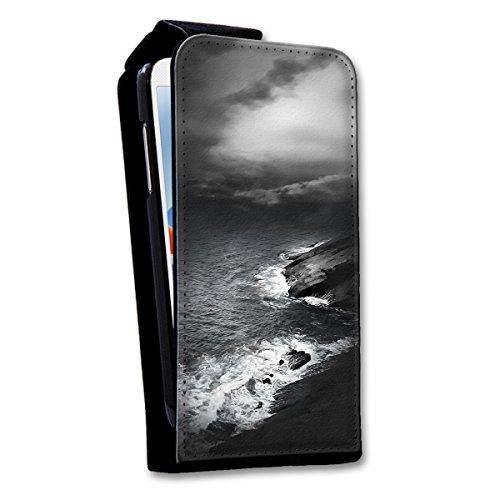 Flip Style Vertikal Handy Tasche Case Schutz Hülle Schale Motiv Foto Etui für Apple iPhone 6 / 6S - Flip V21 Design4 Design 5