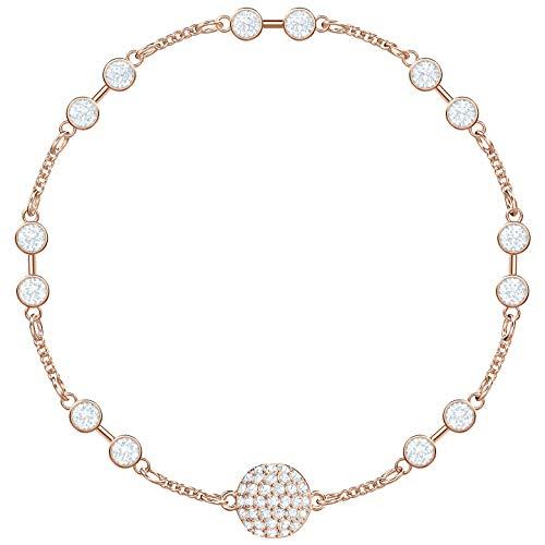 Swarovski Damen-Armreifen Edelstahl Kristall 5435651