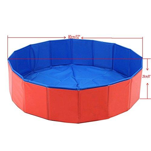 Angelbubbles piscina pieghevole per chihuahua e cani di piccola taglia - Piscina per cani ...