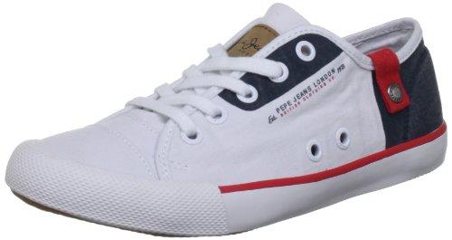Pepe Jeans - BTJ-270 B1, Sneaker Bambino Bianco