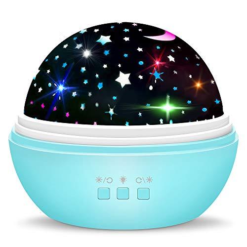 Spielzeug Junge 1-10 Jahre, Dreamingbox Sternenhimmel Projektor für Kinder Schlafzimmer Spielzeug für Mädchen 1-10 Jahre 2019 Geburtstag Geschenke Mädchen 1-12 Jahre Geburtstaggeschenk für Jungen Blau