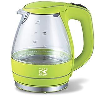 Team-Kalorik-Group TKG JK 1022 AG Design-Glas-Wasserkocher, 2200 W, 1,5 L