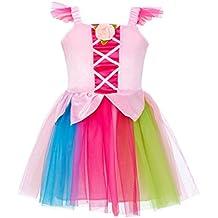 10056 Romeo-Rosa-Disfraz para niño talla Nuria-vestido, color rosa