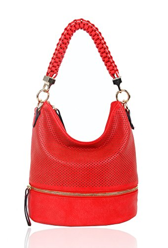 FoxLady - Sacchetto donna Red