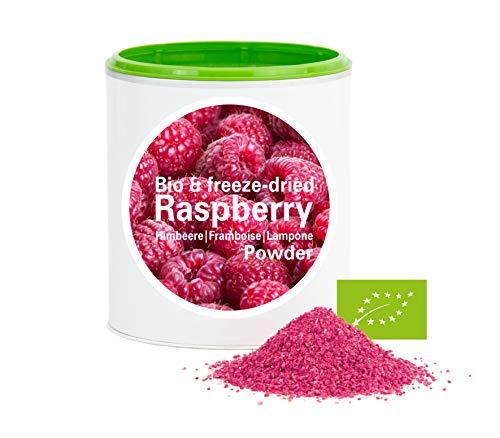 Himbeerpulver - Bio Himbeere gefriergetrocknet |bio organic| freeze-dried raspberrys| good-superfruit von good-smoothie| 100% frucht |ohne zusatzstoffe + viele Inhaltsstoffe| 120g
