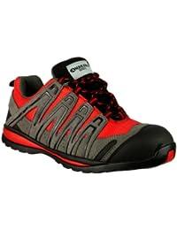 Amblers Steel , Chaussures de sécurité pour homme Rouge rouge