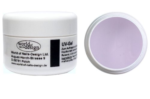 World of Nails-Design 3 Phasen UV-Gel mittelviskose 30 ml, 1er Pack (1 x 30 ml) (Gel-nagel)
