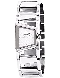 Adamo Off-White Dial Analogue Womens Watch - (AD33SM01)