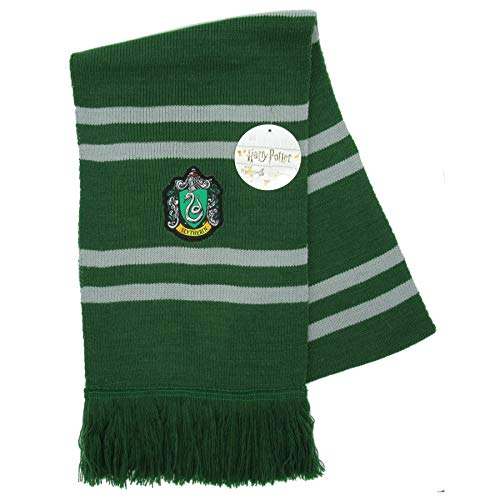 Harry Potter Echarpe SERPENTARD Ultra Douce - 100% Original Warner Bros