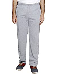 IndiWeaves Men's Premium Cotton Grey Lower with 1 Zipper Pocket and 1 Open Pocket