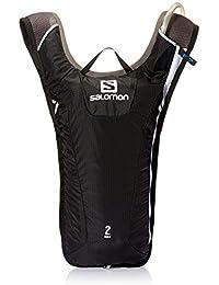 Salomon Agile 2 - Mochila muy ligera, 3L para esquiar, snowboard o correr, 40x20x2 cm,negro