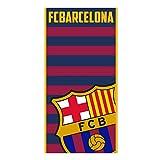 F.C. BARCELONA Badetuch und Microfaser-Strandtuch. 70x140 cm. Barça FCB 134