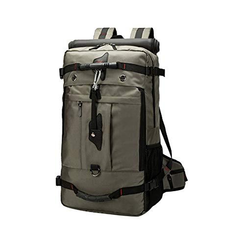 Zhhlaixing Damen Herren Rucksack Großer Kapazität 40L 50L - Wandern Rucksack Wasserdichtes Outdoor Trekking Camping Sporttasche Gepäck mit Passwortsperre