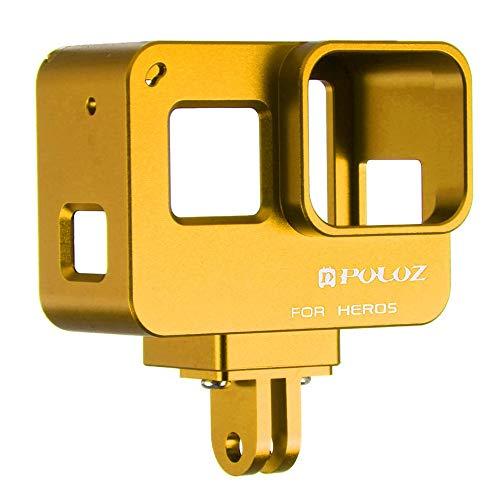 Preisvergleich Produktbild PULUZ New Hero7 (schwarz) Randzubehör Hero Metallkäfig Schutzhülle Golden