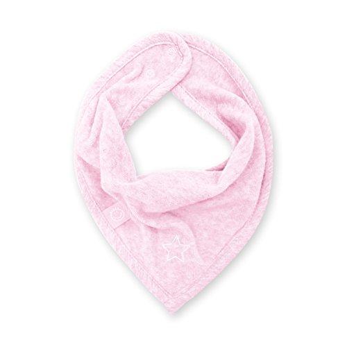 Bemini by Baby Boum 355STARY54TM Bandana Lätzchen Terry Stary Cristal, 25 cm, rosa