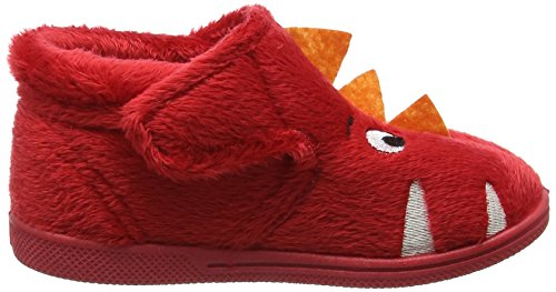 Chipmunks Monster, Chaussons montants garçon Red (Red)