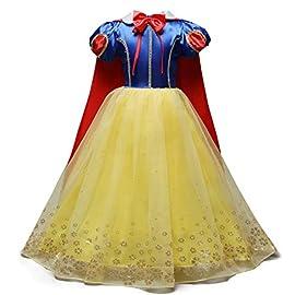 FRAUIT Abiti per Natale Bimba Fascia per Capelli Vestiti Bambina Cerimonia Manica Lunga Principessa Vestito Neonata Invernale Elegante Abiti da Sera Eleganti Ragazza Natalizio Natalizi