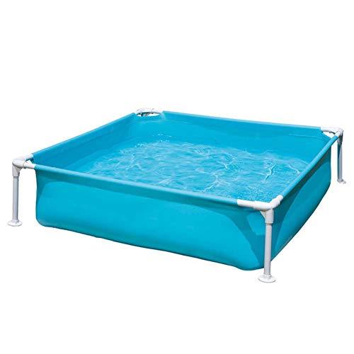 Piscine per Bambini Bambini Giardino Piscina A Sfera con Staffa Adatto per 2-3 Persone Bath Tub Blu 122x30cm