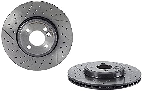 Brembo 09.A047.11 Front UV Coated Brake Disc - Set of 2