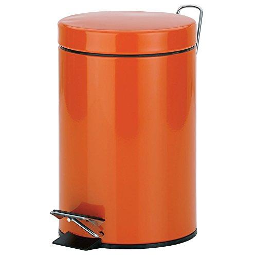 kela-21764-sina-poubelle-cosmetique-metal-orange-17-x-17-x-26-cm-3-l