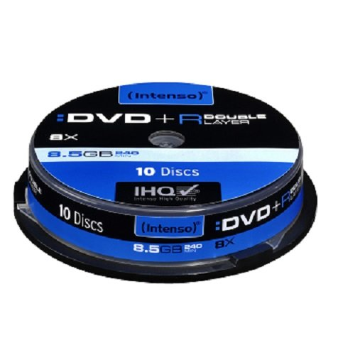 dvd 8gb Intenso Double Layer DVD+R (8,5GB, 8 x Speed, 10er Spindel)