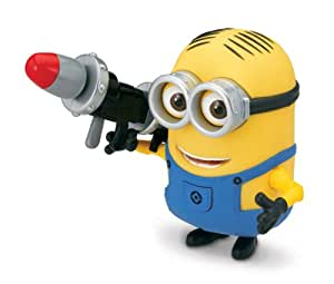 Despicable Me 2 Minion Dave with Rocket Launcher Action Figure