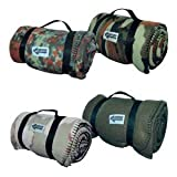 Kuschlige Flauschige Army Style Picknick Decke Outdoordecke 140*190cm in verschiedenen Farben