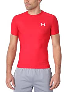 Under Armour Heatgear Mens Compression T-Shirt - M, Red