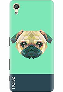 Noise Designer Printed Case / Cover for Sony Xperia X Dual / Comics & Cartoons / Crystal Pug Design