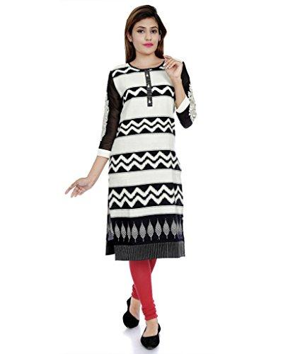 Divena Khadi Embroidered Plus size kurtis (DBK0022-4XL
