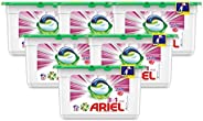 Ariel 3 in1 Pods, Washing Liquid Capsules, Touch of Freshness Downy, 6 x 15 Count