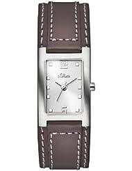 s.Oliver Damen-Armbanduhr Casual Analog Quarz Leder SO-2501-LQ