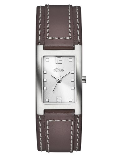 s.Oliver Women's Quartz Watch SO-2501-LQ SO-2501-LQ with Leather Strap