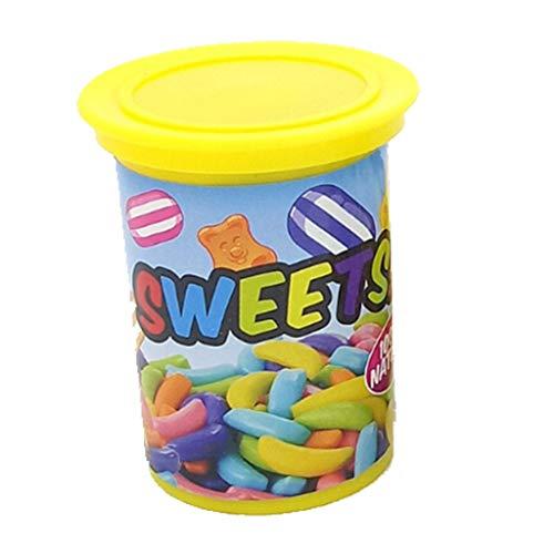 Qomomont Spoof Funny Scare Kleine Süße Süßigkeiten Funny Party Game Spielzeug Retro-Stil der 90er Jahre chinesische Spielzeug