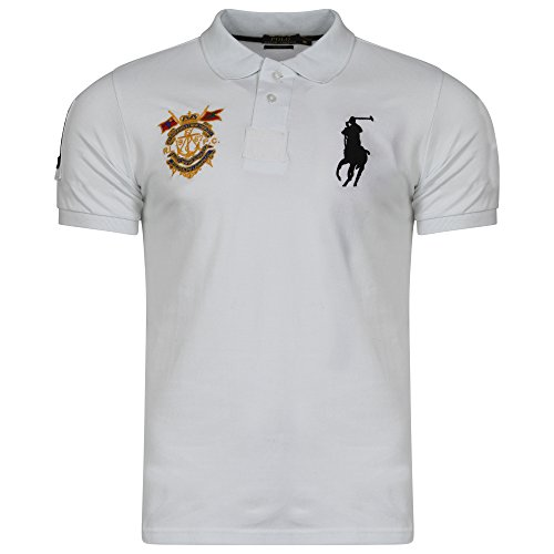 ralph-lauren-masterclass-big-pony-polo-da-uomo-a-maniche-corte-custom-fit-white-xx-large