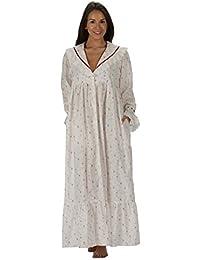 pourThe 1 for U 100% coton Style Victorien Nightgown/robe de chambre Amelia XS-XXXXL