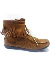 19ff16cf2 Amazon.es  botines flecos - Zapatos para niña   Zapatos  Zapatos y ...