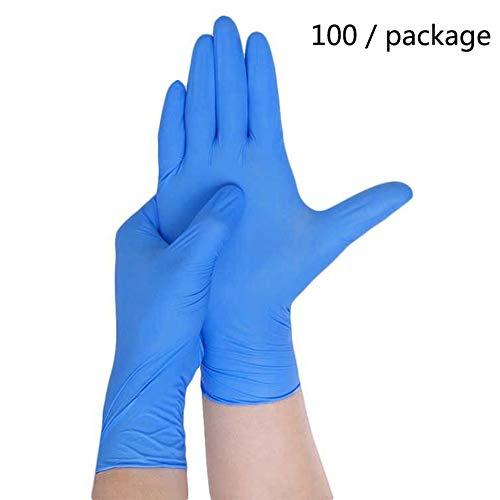 Allbestaye Allbestaye 100pcs Latex Gloves Medical Grade Non Sterile Food  Safe Waterproof Disposable Kitchen Gloves