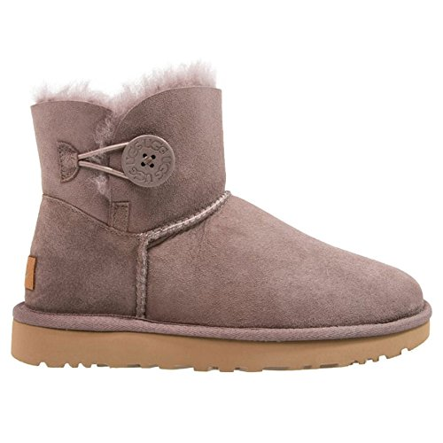 UGG Chaussures - MINI BAILEY BUTTON II 1016422 - stormy grey