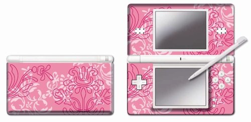 pebble-entertainment-pink-ornamental-graphic-skin-for-ds-lite-nintendo-ds