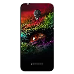 LIGHT BACK COVER FOR MICROMAX CANVAS SPARK Q380