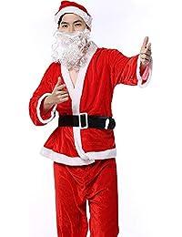 MIAO Disfraz Erótico De Cinco Piezas De Traje Disfraz De Santa Claus para Adultos