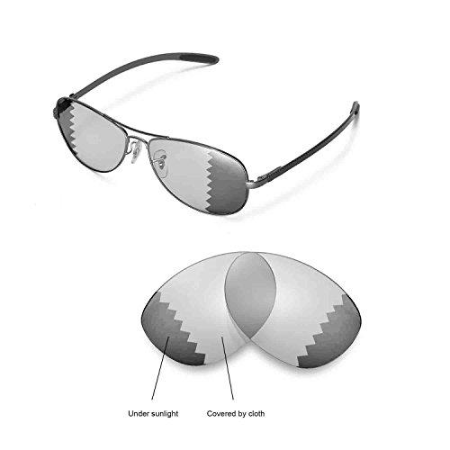 Walleva Ersatzgläser für Ray-Ban RB8301 59mm Sonnenbrille - Mulitple Optionen (übergang / photochrom - Polarisiert)