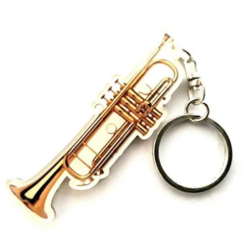 Schlüsselanhänger in Form von Trompete