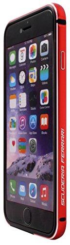 Ferrari Racing Stoßkasten für Apple iPhone 6 Plus/6S Plus schwarz rot